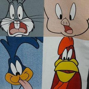 Warner Bros. Tops - Looney Toons Long Sleeve T Shirt Size Medium